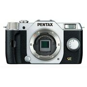 Used Pentax Q7 12.4mp Digital Camera - Silver And Black Body Only Excellent Fr