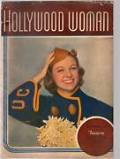 Hollywood Woman 1 10/1937-1st Issue-florence Rice-charlie Mccarthy-edgar Ber...