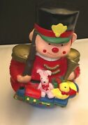 Toy Soldier Musical You Better Watch Out Christmas Colorful Wind Up Music Box