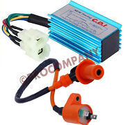 Performance Racing Cdi Box And Ignition Coil For Gy6 50cc-250cc Atv Bikes Go Karts