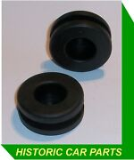 2 X Oil Cooler Pipe Grommets For Mgbgt And Mgb Roadster 1798cc 1962-74