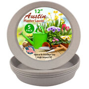 Austin Planters Polypropylene Plant Saucers Multi Pack Andndash Heavy Duty In/outdoor