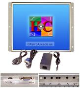 19 Inch Arcade Game Led Monitor For Arcade Cabinets Jamma / Mame / Multicade