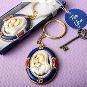 144 Madonna And Child Key Chain Wedding Christening Baptism Religious Favors
