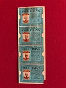 1968 Kentucky Fried Chicken Un-used Free Fixinand039s Coupons 4 Scarce