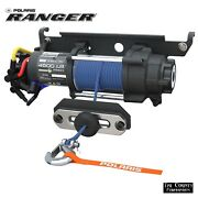 Pure Polaris Pro Hd 4500 Lb Winch With Rapid Rope Recovery Ranger 1000xp 2018-19