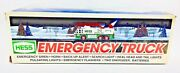 Vintage Toy Trucks Hess Oil Co. 1994- Rescue Truck And 1996 Emergency Truck