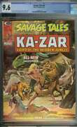 Savage Tales 6 Cgc 9.6 White Pages