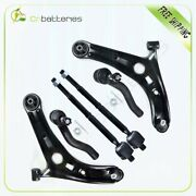 For Toyota Echo Suspension 6pcs Lower Control Arms Tie Rods Kit 2000-2005