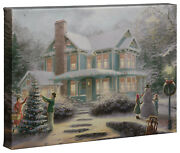 Thomas Kinkade Holiday Collection 10x14 Gallery Wrapped Canvas Choice Of 4