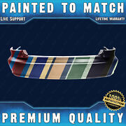 New Painted To Match - Rear Bumper Cover For 1998-2002 Honda Accord Sedan 4-door