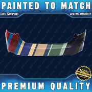 New Painted To Match - Rear Bumper For 2012 2013 2014 Ford Focus Sedan 4dr 12-14