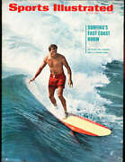 7/18 1966 Phil Edwards Surfing Sports Illustrated Newsstand Nr Mt Sibx3