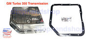 New Transmission Oil Pan For Gm Chevy Thm350 Th350 350c Polished Aluminum Set