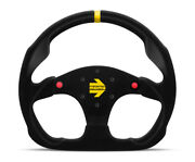 Momo Mod 30 320 Mm W/ Buttons Suede Racing Steering Wheel R1960/32shb