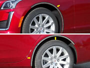 6 Pc Stainless Steel Wheel Well Fender Accent Trim Cadillac Cts Qaa Wq54252