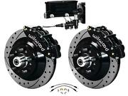 Wilwood 64-72 Chevelle A-body Manual Front Disc Big Brake Kit Drilled 13