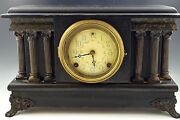 Sessions Mantel Clock Working Vg Condition Antique