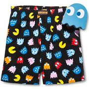 Pac-man Boxer Shorts Men's Decorative Collectible Ghost Tin Bank - Inky