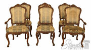 L46195ec Set Of 6 Karges Louis Xv Style Dining Room Chairs