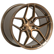 19 Rohana Rfx11 Bronze Forged Concave Staggered Wheels Rims Fits Acura Tl
