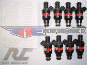 Rc Flowmatched 24lb Carburant Injecteurs Adaptandeacute Chevy Ford Pontiac Bosch Neuf