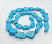 Aaa Quality Sleeping Beauty Turquoise Large Nugget Strands