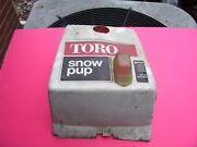 Rare Find, Antique / Vintage Toro Snow Blower Top Cover For Snow Pup