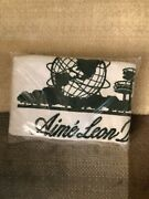 New Aime Leon Dore Unisphere Beach Towel White Ald 30and039and039 X 60and039and039