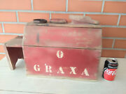 Antique Wood Tool Box Clobber 19th Century Shoeshiner Street Clobber Grease