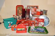 Coca-cola Collectibles Large Lot Of 40+ Pieces