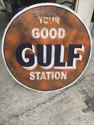 Old Gas Station Signs,reproductions,rat Rod,man Cave