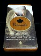 2004 Canada The Great Grizzly 8 Limited Edition Stamp And Silver Coin Set