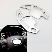 2x Steering Wheel Shift Paddle For Audi S3 S5 S6 Tt Accessories Shifter Extended