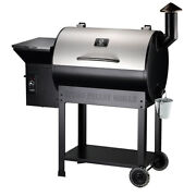 Z Grills Pellet Grill Bbq Barbecue Smoker Outdoor Cooking With Cover Zpg-7002e
