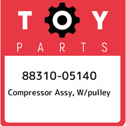 88310-05140 Toyota Compressor Assy, W/pulley 8831005140, New Genuine Oem Part
