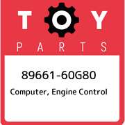 89661-60g80 Toyota Computer Engine Control 8966160g80 New Genuine Oem Part