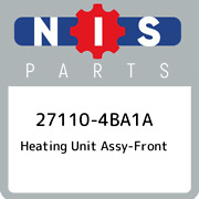 27110-4ba1a Nissan Heating Unit Assy-front 271104ba1a New Genuine Oem Part