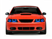 Ford Mustang 99-04 Chs Multi-color Led Headlight Halo Ring Rf Kit