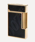 S.t. Dupont James Bond 007 Black And Gold Line 2 Lighter 016169 New In Box