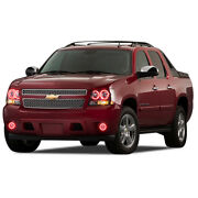 Led Headlight Fog Halo Ring Rgb Colorfuse Kit For Chevrolet Avalanche 07-13
