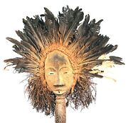 Art African - Huge And Luminous Mask Dan - Antique And Authentic - 73 Cms