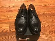 Alan Payne Black Classic Imperial Lace Up Urban Business City Power Shoes 11.5