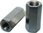 Stainless Steel Threaded Rod Hex Coupling Extension Nuts 3/8-16 Qty 1000