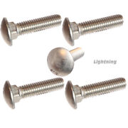 Carriage Bolt 316 Marine Grade Stainless Steel 3/4-10x4 Qty 100