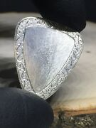 Scrollwork-sterling Silver Guitar Pick. Handmade One Off.