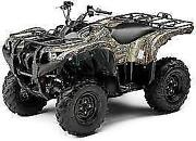New Oem Yamaha Grizzly 550 700 4wd Front Left Fender Camo Camouflage
