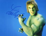 Lou Ferrigno Authentic Hand-signed The Incredible Hulk 8x10 Photo