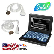 Contec Portable Cms600p2 Laptop Ultrasound Scanner Machine Convex And Linear Probe