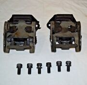 66-67 Motor Mounts With Correct New Kit Chevelle 396 427 Engines Kit New